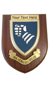 20th Armoured Brigade Personalised Military Wall Plaque